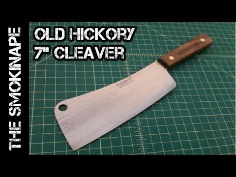 Old Hickory 7 Inch Cleaver – TheSmokinApe