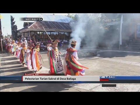 NET. BALI - TARIAN SAKRAL DI DESA BALIAGA