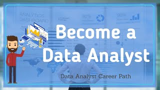 How to Become A Data Analyst | Data Analyst Career Path | For Beginners