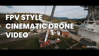 FPV style cinematic drone video - make your next production stand out from the rest.