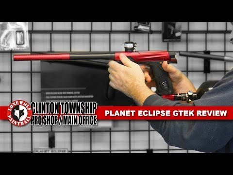 Planet Eclipse GTEK Review Paintball Marker Lone Wolf Paintball Michigan