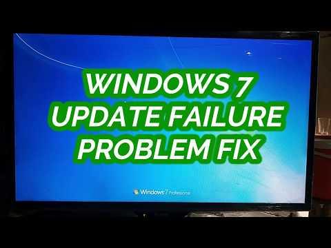 windows 7 failure configuring windows updates reverting changes stuck
