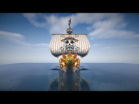 One Piece: Thousand Sunny Minecraft Project
