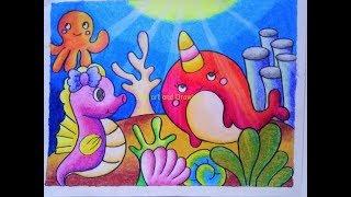 Menggambar Dengan Crayon 123vid