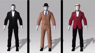 1920 Men Clothing