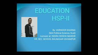 Education HSP-II defects in existing curriculum chapter 1 - Download this Video in MP3, M4A, WEBM, MP4, 3GP
