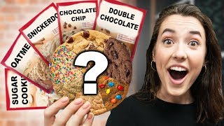 10 Different Cookie Doughs In One Cookie!