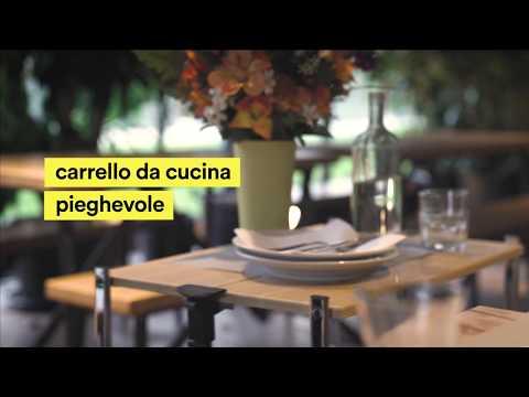 Salvaspazio Cucina Dmail : Carrello pieghevole da cucina dmail