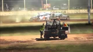 Ellenbrook Speedway | Late Model A Dash Crash
