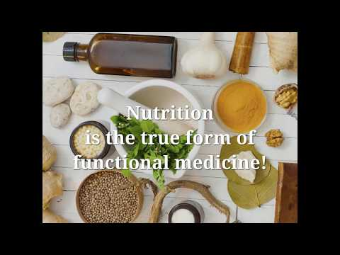 Nutrition is the Best and the Most Effective form of Functional Medicine.
