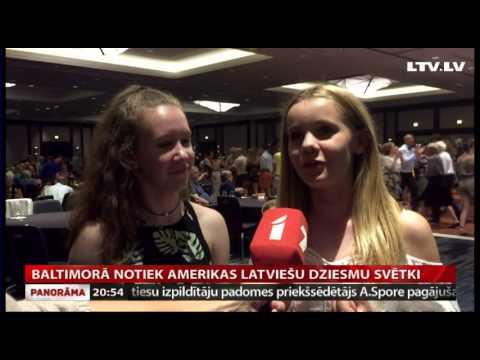 VIDEO: Baltimorā notiek Amerikas latviešu dziesmu svētki