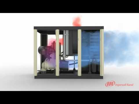 IR Rotary Screw Air Compressor