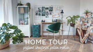 Przepiękne Wnętrze Pełne Roślin | HOME TOUR | Wnętrza Zewnętrza
