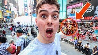 这些煎饼怎么彻底征服纽约了,连时代广场都服了!