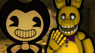 SPRING BONNIE PLAYS: Bendy and the Ink Machine Demo || COME VISIT THE OLD WORKSHOP