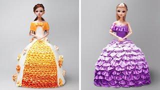5+ Beautiful Disney Princess Cake Decorating | Easy Princess Cake Decoration Ideas | So Yummy Pastry