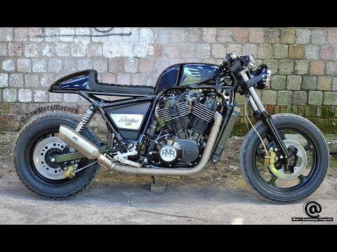 Honda Shadow 500cc Cafe Racer Honda Vt Class Cafe Racer игровое