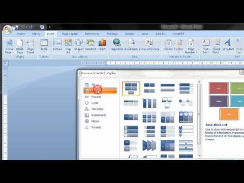 Create A Flow Chart In Word 2007 & 2010 2013 2016 Step By Step Tutorial Mp3