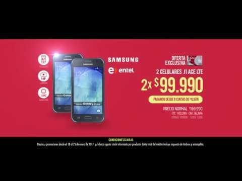 abcdin - 2 Celulares Samsung J1 ACE LTE por $99.990