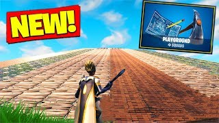 *NEW* PLAYGROUND MODE GAMEPLAY In Fortnite Battle Royale!
