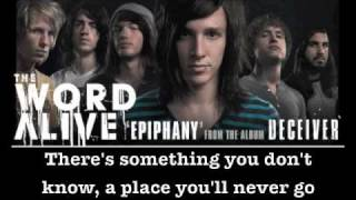 "The Word Alive - ""Epiphany"" (w/ Lyrics)"