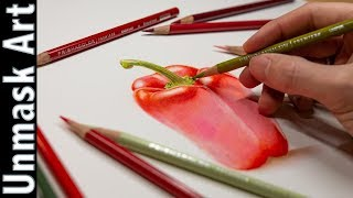 6 Steps To Better Colored Pencil Work!