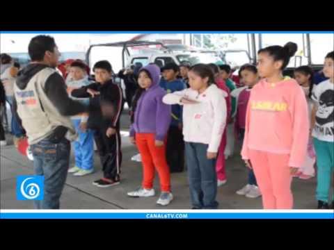 Continúa el curso que implementa la policía municipal de Chimalhuacán, PoliKids