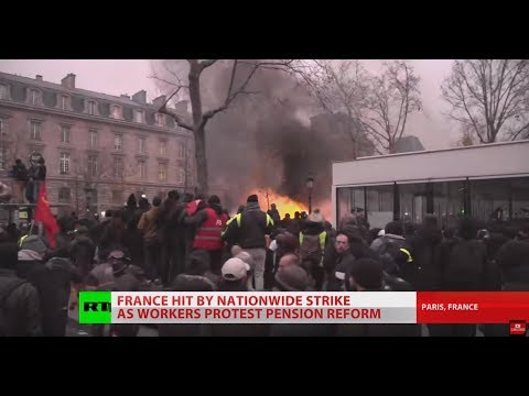All hell breaks loose on the streets of Paris