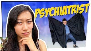 Awkward Canadian Heroes   Psychiatrist ft. LeendaD & Mike Bow