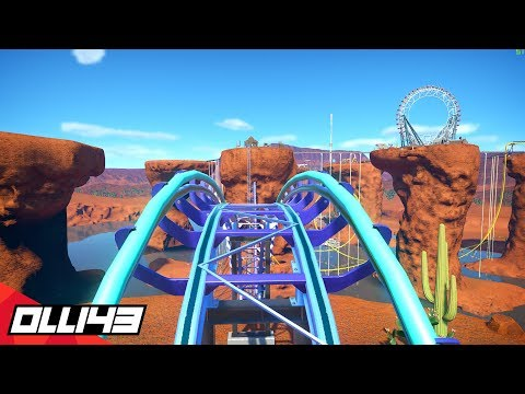 Perfecting the Mega Hyper Water Coaster in Planet Coaster..