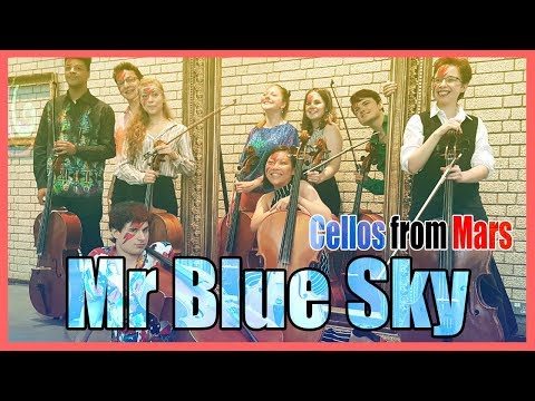 Download Elo Mr Blue Sky Cellos From Mars Video 3GP Mp4 FLV HD Mp3