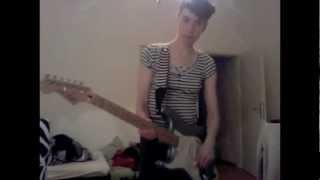 Eating Toothpaste - Bratmobile (Guitar Cover)
