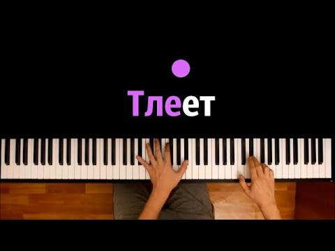 BULA & SVNV - Тлеет ● караоке   PIANO_KARAOKE ● ᴴᴰ + НОТЫ & MIDI