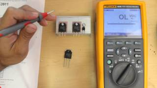 How To Test a MOSFET Transistor Using a Multimeter