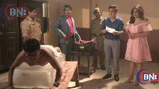 Serial May I come in Madam Sajan, Sanjana and Khilona With Police in Jail Drma Sequence