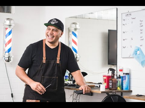 YouTube Stories   Charles Lomu: Barbering for Change