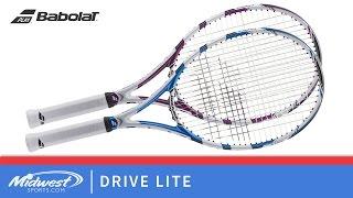 Ρακέτα τέννις Babolat Drive Lite video