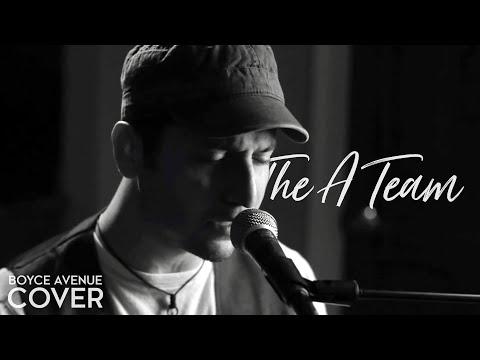 The A Team chords & lyrics - Boyce Avenue