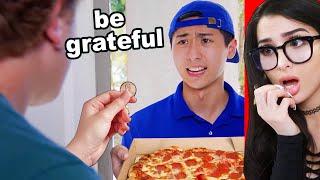 Rich Kid Treats Pizza Boy Like Garbage