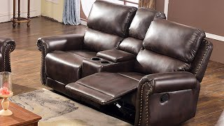 Best Reclining Loveseat With Console - Ideal Loveseat