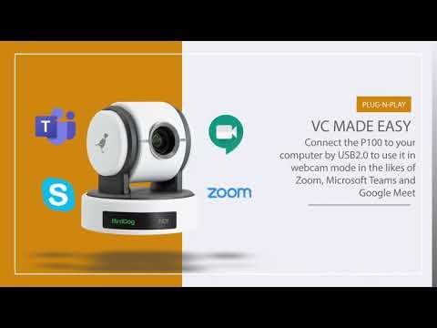 Eyes P100 | PTZ NDI Camera