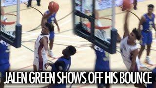 Jalen Green SAVAGE Battle Vs Zion Harmon SHOWS OFF BOUNCE In Playoffs
