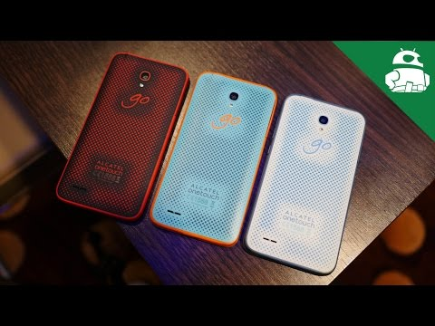 Alcatel OneTouch Go Play First Look