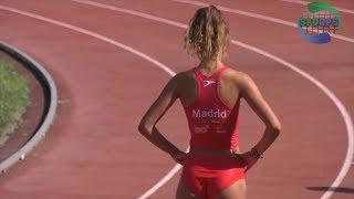 Spanish Autonomic Federations Championships 2018  | 100 200 400 4x100 Hurdles | Girls of Spain | ᴴᴰ
