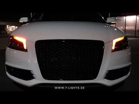 [7-LIGHTS | SCHEINWERFERFABRIK] Audi A3 S3 RS3 8P FL Dynamischer Blinker + Scheinwerferlackierung