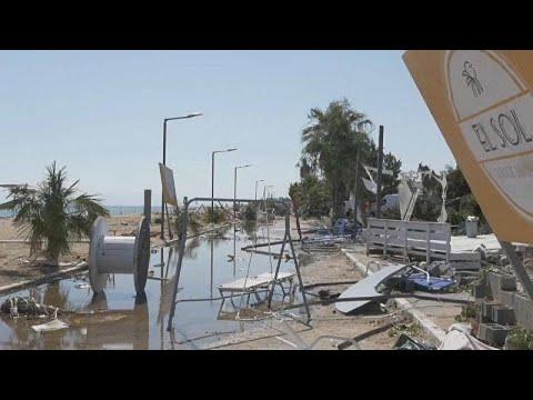 Χαλκιδική : Αποκατάσταση ζημιών
