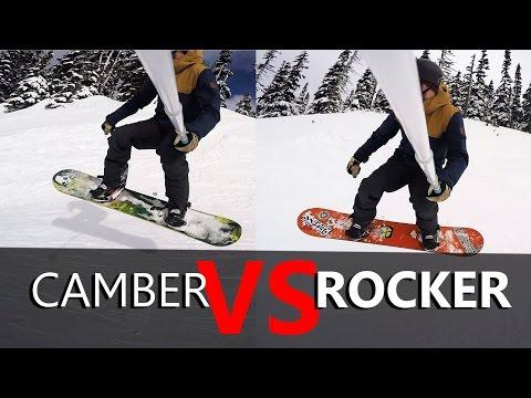Camber VS Rocker Snowboard Test