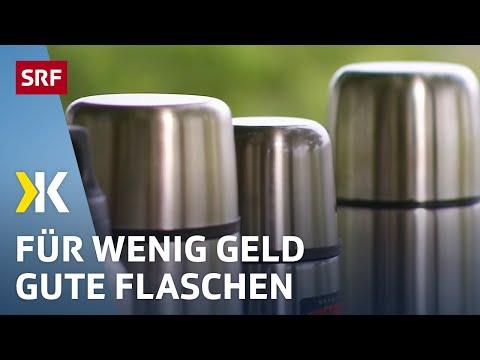 Thermosflaschen im Test: Gut und erst noch günstig | 2018 | SRF Kassensturz