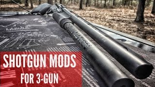 HOW TO EASILY SETUP YOUR SHOTGUN FOR 3-GUN | OPTIMAL MODS