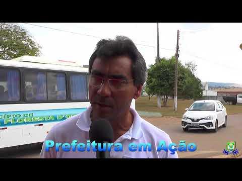 secretario de saúde fala sobre novo micro-ônibus adquirido pelo município